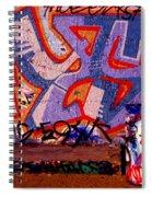 Trash Can Art Spiral Notebook