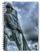 Trawlermens Memorial 2 Spiral Notebook
