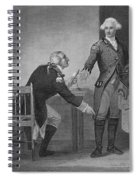 Treason Of Benedict Arnold, 1780 Spiral Notebook