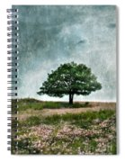 Tree And Wildflowers  Spiral Notebook