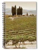 Tree Circle - Tuscany  Spiral Notebook