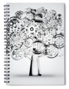 Tree Of Industrial Spiral Notebook