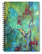 Tree Of Winding Color Spiral Notebook