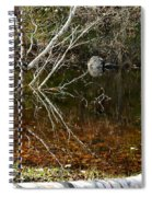 Tree Reflections Stoney Creek Spiral Notebook