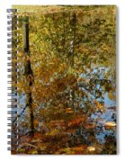 Tree River Reflections Spiral Notebook