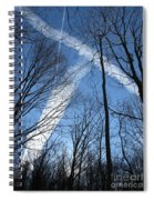 Trees And Trails Spiral Notebook