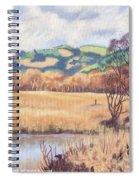 Cors Caron Nature Reserve Tregaron Painting Spiral Notebook