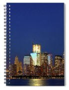 Tribute Of Lights Nyc 2012 Spiral Notebook