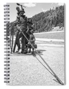 Tribute To The Mining Family - Wallace Idaho Spiral Notebook