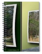 Trike Wave - Gently Cross Your Eyes And Focus On The Middle Image Spiral Notebook