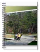 Trike Wave Spiral Notebook