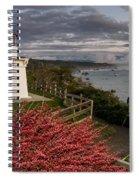 Trinidad Memorial Lighthouse After Storm Spiral Notebook
