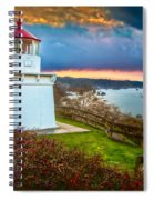 Trinidad Memorial Lighthouse Morning Spiral Notebook