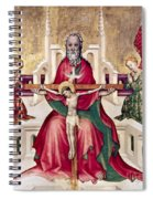 Trinity And Christ Spiral Notebook