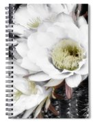 Triple Torch Cactus Spiral Notebook