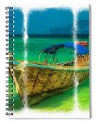 Triptych Longboat Spiral Notebook