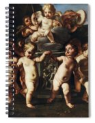 Triumph Of Cupid Spiral Notebook