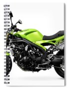 Triumph Speed Triple Motorcycle Spiral Notebook