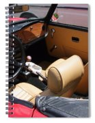 Triumph Tr6 Seats Spiral Notebook