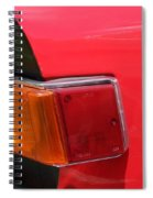 Triumph Tr6 Tail Light Spiral Notebook