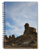 Trona Pinnacles 2 Spiral Notebook