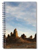 Trona Pinnacles 3 Spiral Notebook