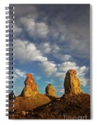 Trona Pinnacles 5 Spiral Notebook
