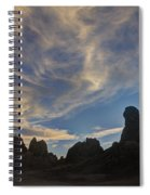 Trona Pinnacles 6 Spiral Notebook