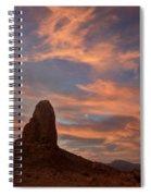 Trona Pinnacles 8 Spiral Notebook