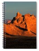 Trona Pinnacles Panorama Spiral Notebook