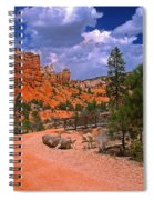 Tropic Canyon In Bryce Canyon Park Spiral Notebook