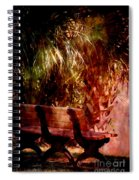 Tropical Bench Spiral Notebook