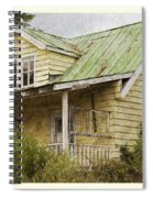 Tropical Cottage Spiral Notebook