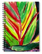 Tropical Foliage Spiral Notebook