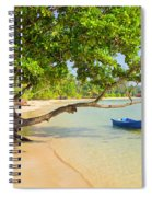 Tropical Island Scenery Spiral Notebook