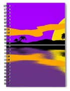 Tropical Sunrise Spiral Notebook