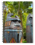Tropical Tikis Spiral Notebook