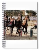 Trotting 3 Spiral Notebook
