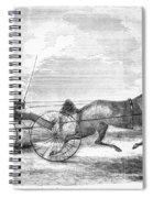 Trotting Horse, 1853 Spiral Notebook