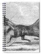 Trotting Horse, 1861 Spiral Notebook