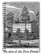Troy Female Seminary, 1841 Spiral Notebook