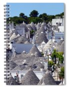 Truly Whimsical Trulli Spiral Notebook