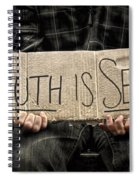 Truth Is Sexy Spiral Notebook