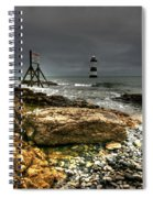 Trwyn Du Lighthouse Spiral Notebook