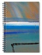 Tsunami Wave Spiral Notebook