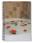 Tub Of Hibiscus Spiral Notebook