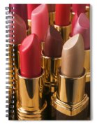 Tubes Of Lipstick Spiral Notebook