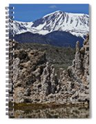 Tufa At Mono Lake California Spiral Notebook