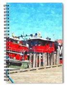 Tugboat Twc Spiral Notebook