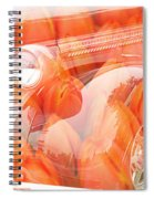 Tulip Car Abstract Spiral Notebook